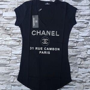chanel tshirt XL size